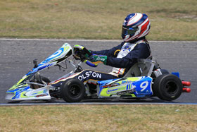 CompKart on track